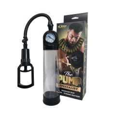Horny Products - Men Max 02 Penis Pump with Meter Black