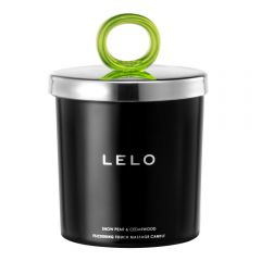 Lelo - Flickering Touch Massage Candle Snow Pear And Cedarwood