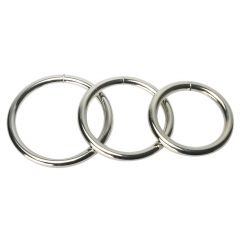 Master Series - Trine Steel C-Ring Collection