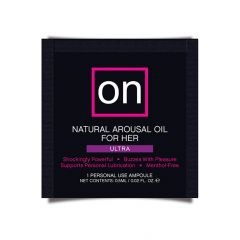 Sensuva - On For Her Arousal Oil Arousal Clitoral Gel Ultra Single Use Ampoule