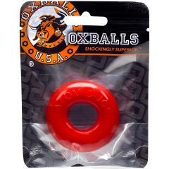 Oxballs - Do-Nut-2 Cock Ring - Red